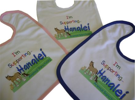 Hanalei Animal Sanctuary Baby Bib